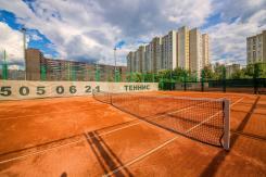 грунтовый теннисный корт